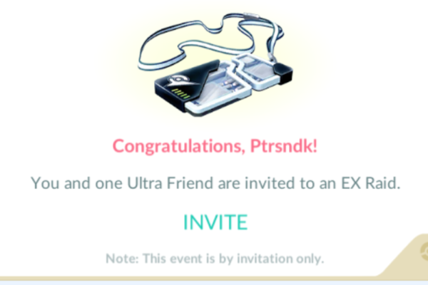 Det gamle EX-raid invitationssystem er tilbage