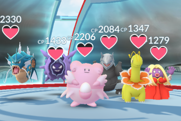 Gyms under angreb