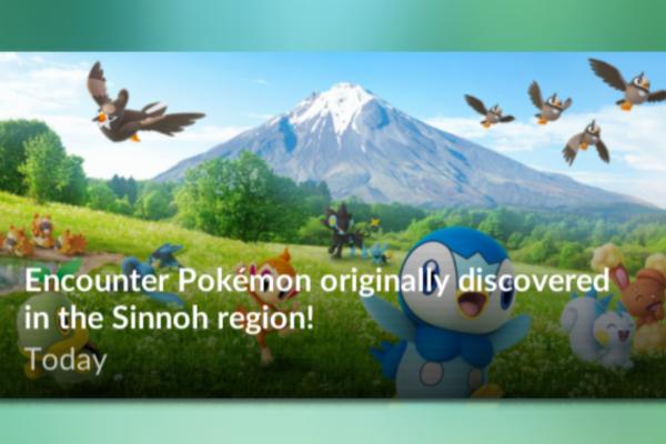 Pokemon fra 4. generation er dukket op