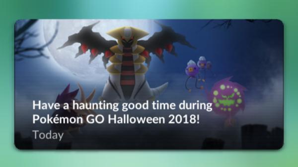 Sidste dag med Halloween event