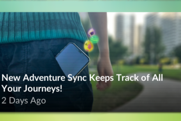 Kommende funktion: Adventure Sync