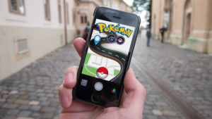 Pokemon go på i iphone