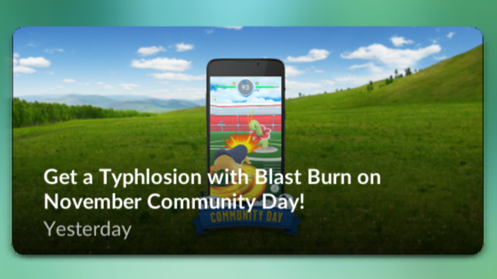 Cyndaquil community day