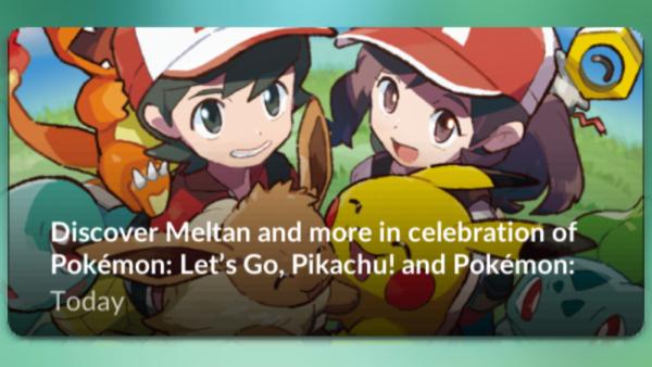 Fejring af Pokemon Let's Go afsløret