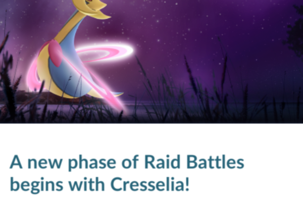 Cresselia bliver næste raid-boss