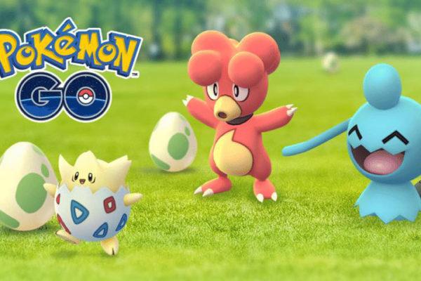 Baby pokemon i 7 km æg