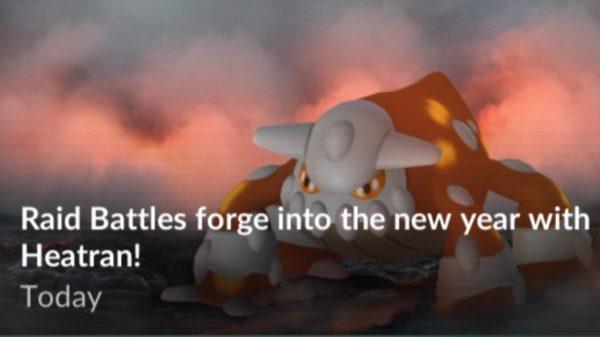 Heatran bliver den næste legendary raid-boss