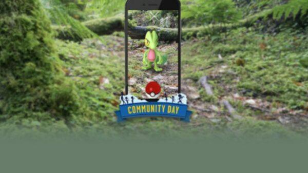 Næste Community Day bliver med Treecko