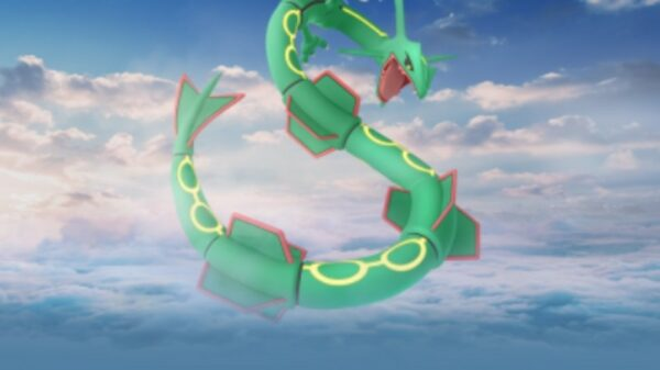 Rayquaza kommer tilbage for en weekend